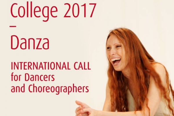 "Poster of ""Biennale College 2017 – Danza"""