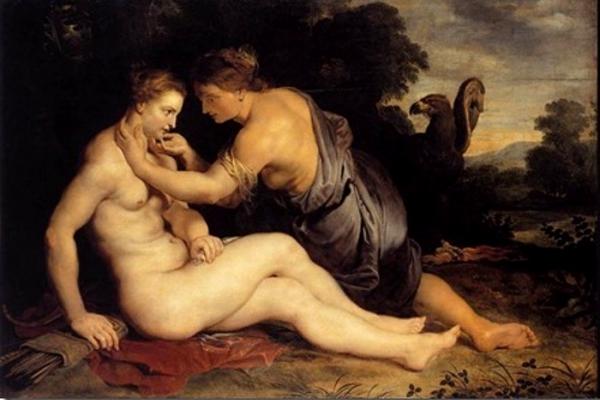 Jupiter et Callisto, Peter Paul Rubens