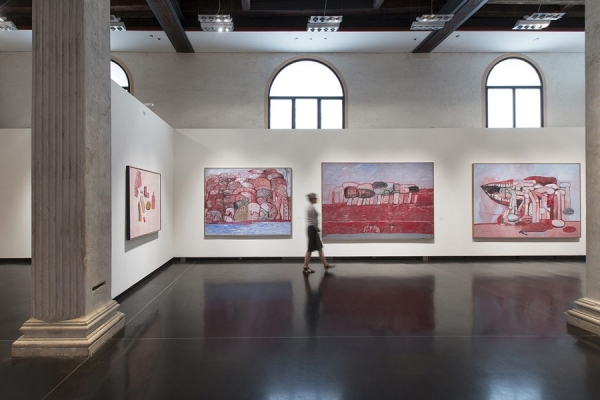 "View of the exhibition ""Philip Guston and The Poets"""
