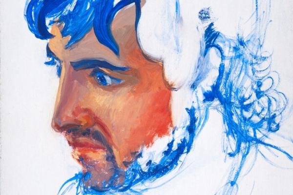 """Peter, an artwork presented within the exhibition """"Roger De Montebello Ritratti di Venezia e altri ritratti"""""""