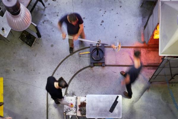 A Furnace in Marseille. Cirva – Centre international de recherche sur le verre et les arts plastiques