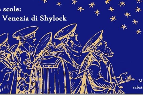 "Affiche du concert  ""Calli, campi e scole: a spasso nella Venezia di Shylock"""