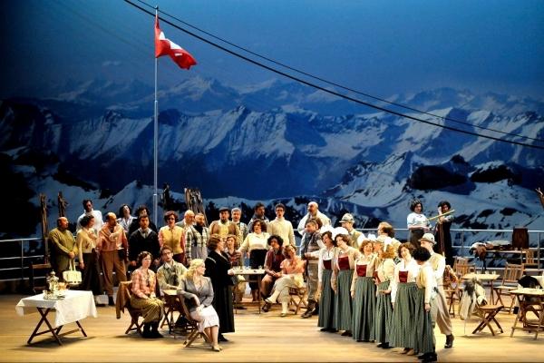 """""""La sonnambula"""" by Vincenzo Bellini at La Fenice Theatre"""