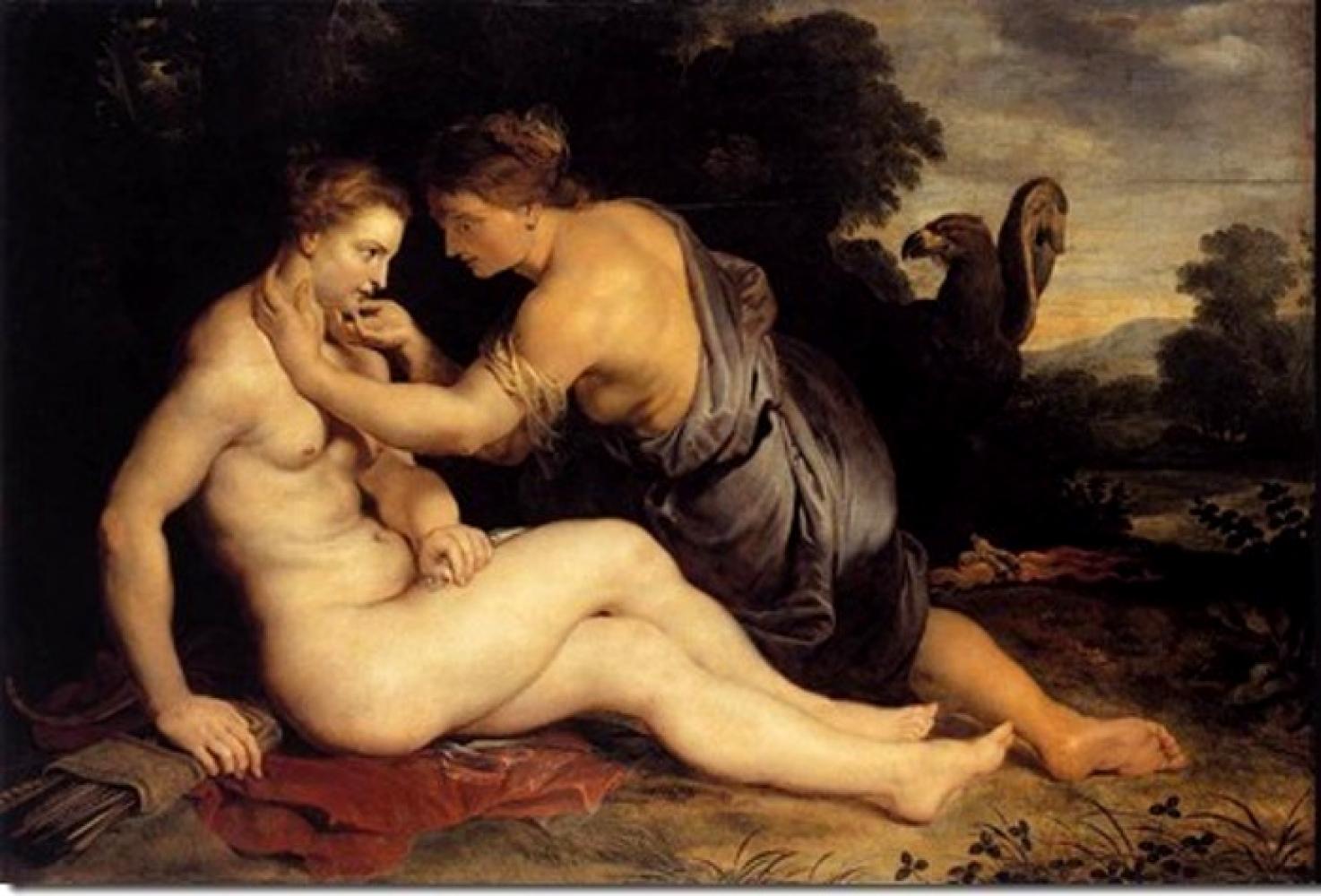 Jupiter and Callisto, Peter Paul Rubens