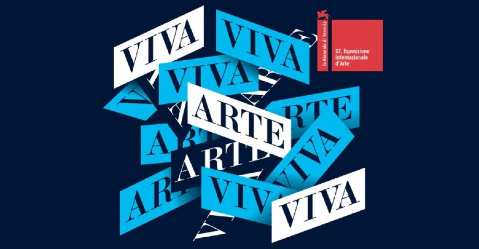 Poster of the 57th International Art Exhibition – Viva Arte Viva