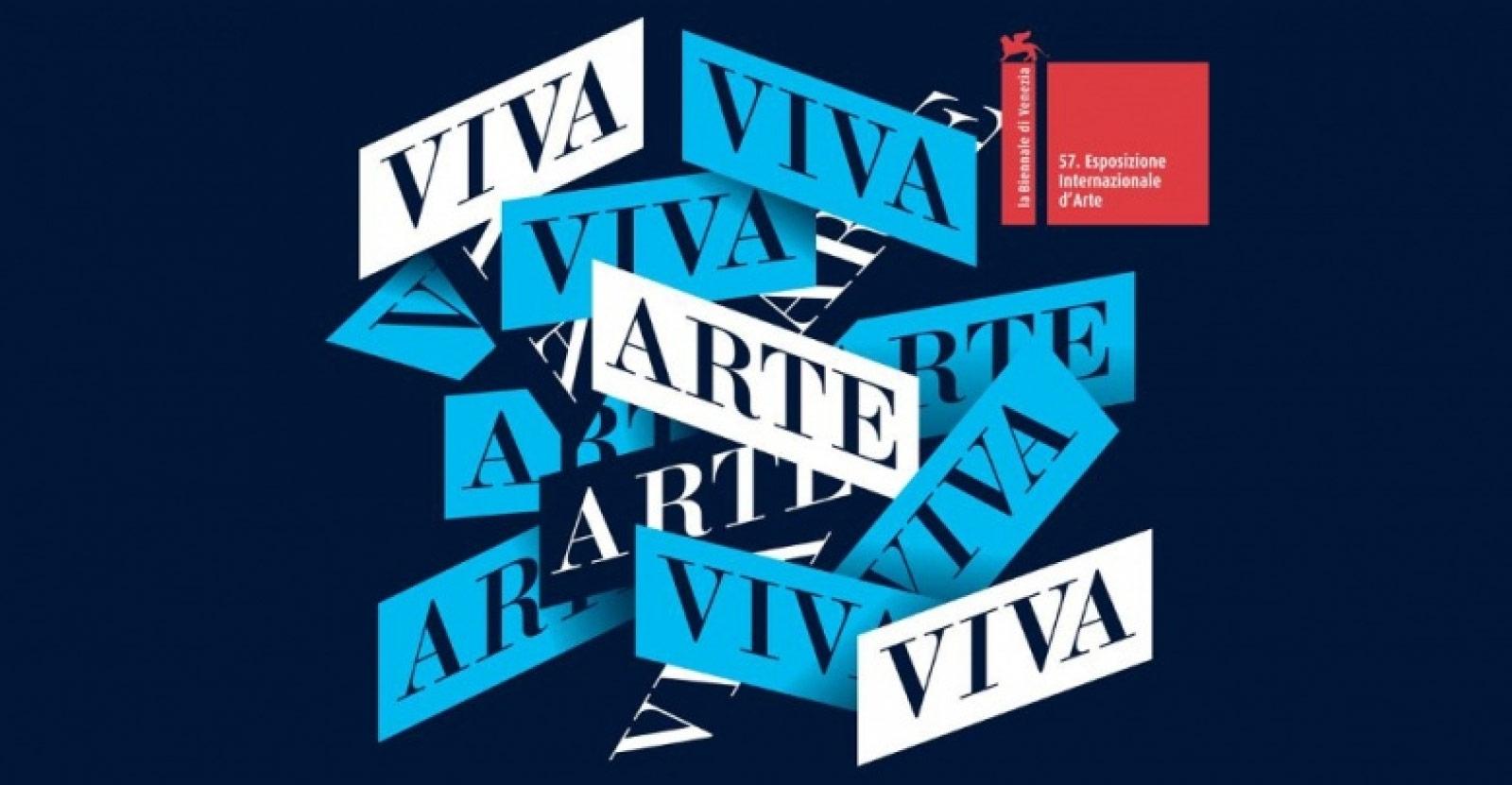 Poster of the 57th International Art Exhibition – Viva Arte Viva