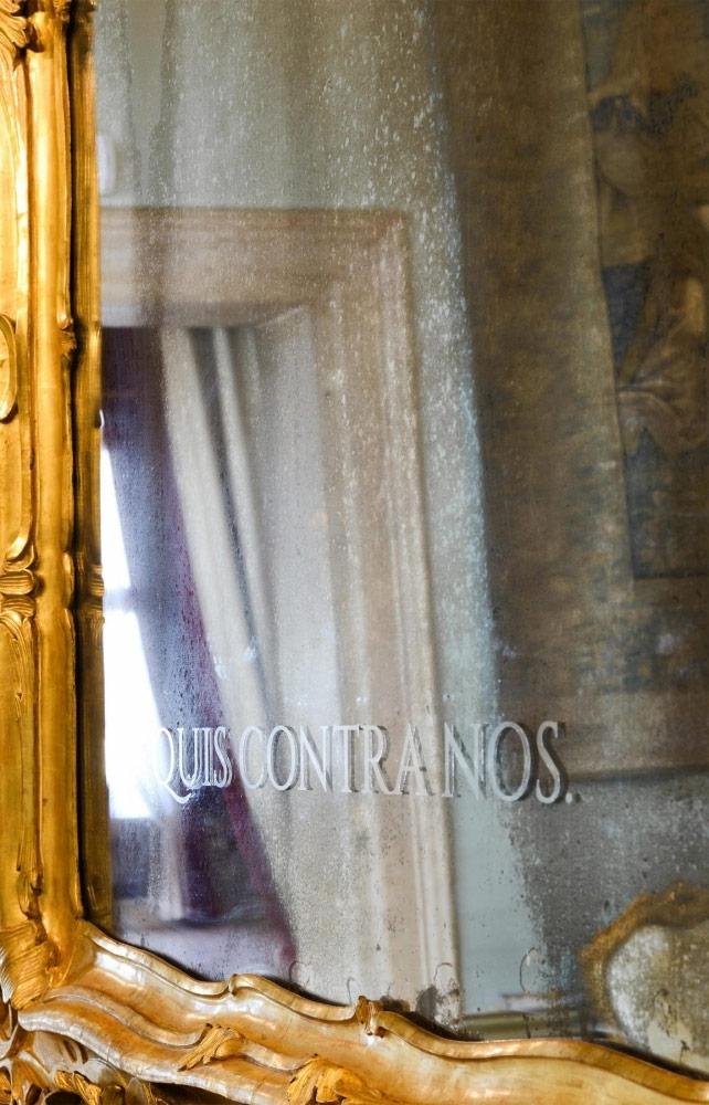 "Quis contra nos, a picture presented within the exhibition  ""Marzia Migliora Velme"""