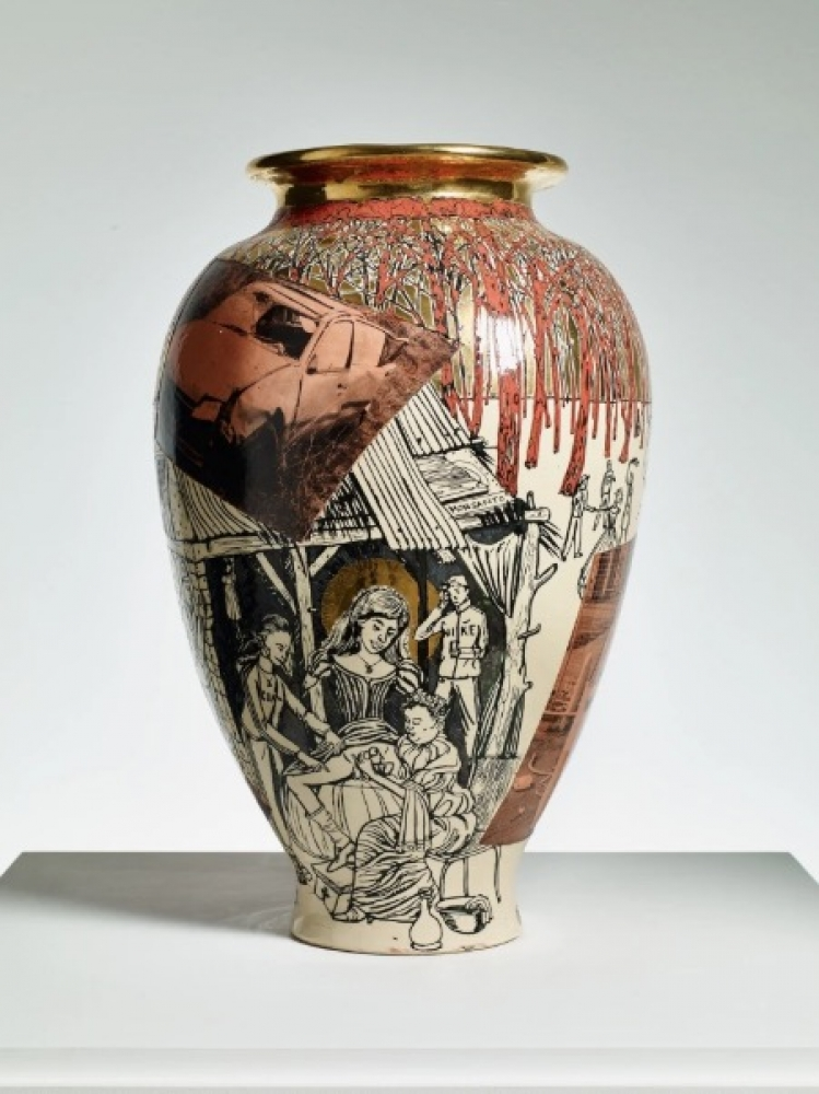 Christian Holstad, Grayson Perry, Tal R, Betty Woodman