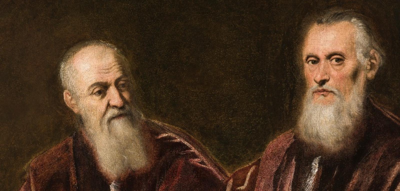 """Esposizione del restauro delle due tele """"Ritratto di due senatori"""" di Tintoretto"""