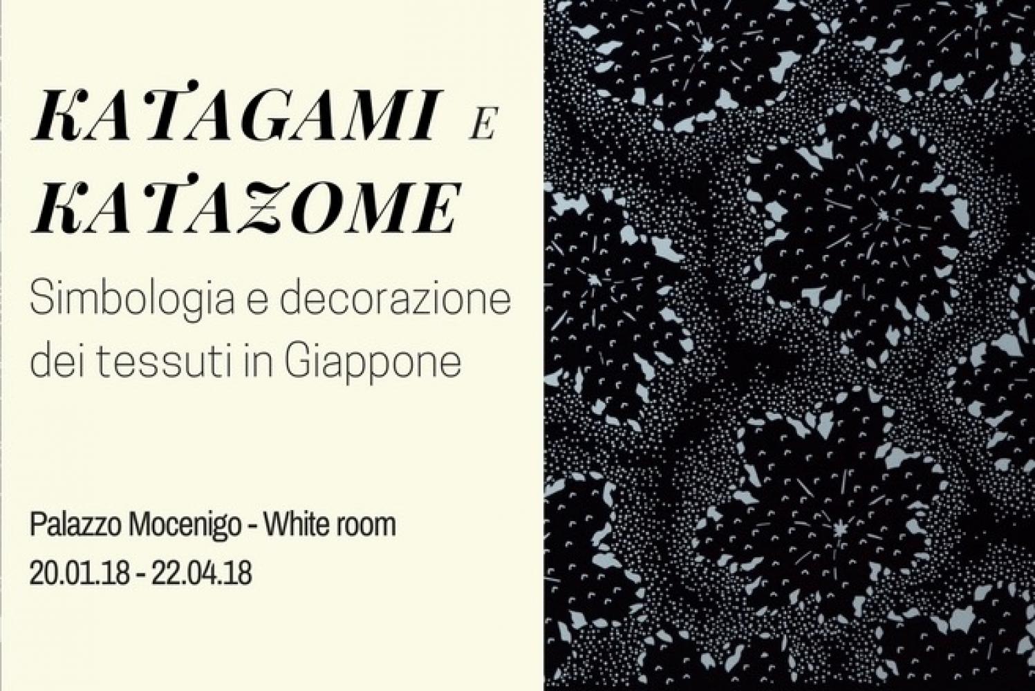 KATAGAMI E KATAZOME. Simbologia e decorazione dei tessuti in Giappone