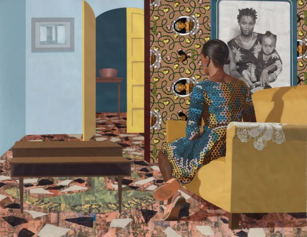 "Njideka Akunyili Crosby: ""The Beautyful Ones"""